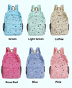 [Singapore Seller] Latest Women Hot Preppy Korean Fashion Model Canvas Backpacks/ Computer/ School Bag*Good Quality Material Padded Handbags/ Shoulder Bags*Travel Light