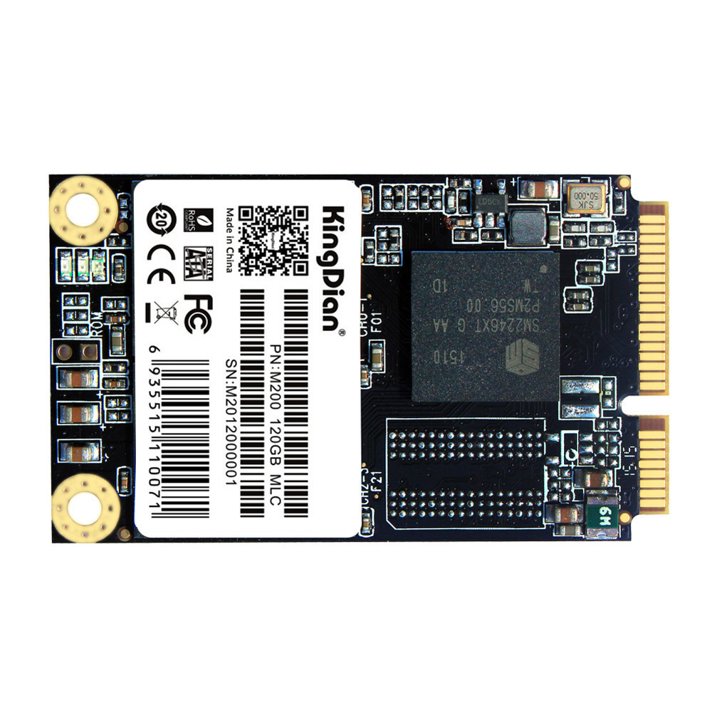 【クリックでお店のこの商品のページへ】KingDian MSATA M200 120G MLC MSATAデジタルフラッシュSSDソリッドステートドライブストレージデバイス