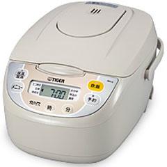 【クリックで詳細表示】タイガー魔法瓶 炊飯器 マイコン炊飯ジャー 炊きたて 5.5合炊き ベージュ JBH-G100C
