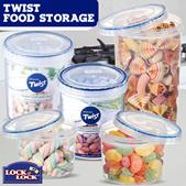 LOCKnLOCK Twist Sound Lock - Dry Food Storage