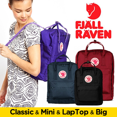 fjallraven kanken classic vs laptop