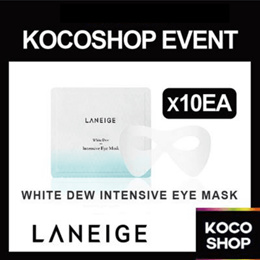 BLACK FRIDAY SPECIAL! [LANEIGE] WHITE DEW EYE MASK 10EA ONLY 100QTY LIMITED PRICE!
