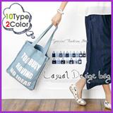 Denim Bag/shoulder bag/casual denim bag/big size bag/10types
