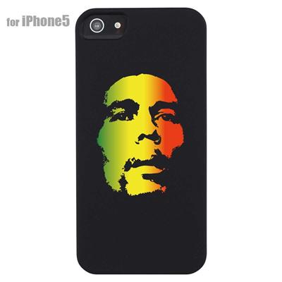 【iPhone5S】【iPhone5】【レゲエ】【iPhone5ケース】【カバー】【スマホケース】【BOB MARLEY】 ip5-08-j0011の画像