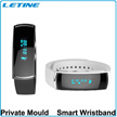 Letine Smart Watch WH06 similar fibit gear Samsung 0.91 inch Mirror OLED Caller ID  Pedometer SMS Sleep monitor Calories Bluetooth 4.0 Android  IOS