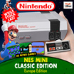 OFFICIAL Nintendo Entertainment System (Latest Model)- NES MINI Classic Edition Europe Edition Console 30 games LIMITED STOCKS WORLDWIDE
