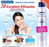 [300ml + 300ml] $28.90 LIMITED OFFER! Bio-Essence MIRACLE BIO WATER! 20 Excellent Efficacies! Results Proven!