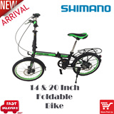 Foldable Bike 14 n 20 inch.Compact Bicycle.Aluminum rim and handle.