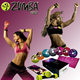 Zumba Fitness Samba Fast Dash Exhilarate Body Shaping System 7DVD /Set+ so inspiring+Dumbbell+Fitness - As seen on TV