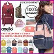 【SG DISTRIBUTOR INSTOCK Buy2Free Shipping】100% AUTHENTIC ANELLO BACKPACK  sports bag travel shoulder