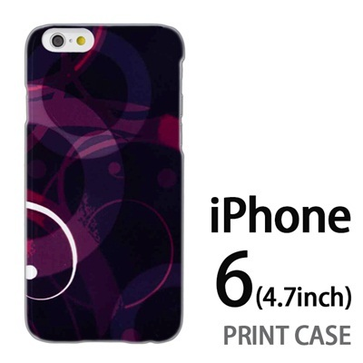 iPhone6 (4.7インチ) 用『No3 レッドタイフーン』特殊印刷ケース【 iphone6 iphone アイフォン アイフォン6 au docomo softbank Apple ケース プリント カバー スマホケース スマホカバー 】の画像