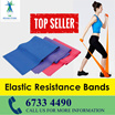 [REHAB STORE SALE!]*Elastic Resistance Band 5 Level* Exercise Band/ Fitness Band/ Stretch Band