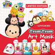 [LOVEMORE]DISNEY Tsum Tsum Art Facial Mask (LIMITED EDITION)♥MICKEY AND MINNIE♥WINNIE THE POOH♥MONSTER INC - SULLEY♥TOY STORY - LOTSO♥HYDRATING♥SOOTHING♥REPAIRING♥FIRMING