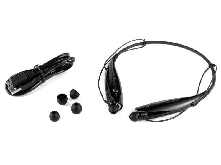 【クリックで詳細表示】LG電子LG HBS-730 Stereo Bluetooth Earphone White Black HBS 730 [Free Shipping]