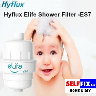 qoo10 hyflux elife energy shower filter es7 effective chlorine reduction t kitchen dining. Black Bedroom Furniture Sets. Home Design Ideas