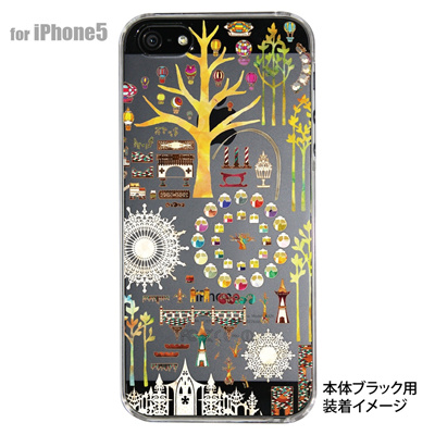 【iPhone5S】【iPhone5】【アトリエ・ココ】【Clear Arts】【iPhone5ケース】【カバー】【スマホケース】【クリアケース】 40-ip5-cc0001の画像