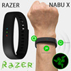 Razer Nabu X Fitness Smartband Wristband in Black/Green/White Android/iOS Local Stocks 1 Year Razer Warranty