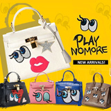 [Playnomore]it item! ★teacher day gift★shygirl bag/ be winky girl bag/ shy family winky family bag playnomore tote bag