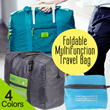 Foldable Multifunction Travel Bag | Tas Travel Lipat Multifungsi (B) DAN (A)