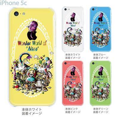 【iPhone5c】【iPhone5cケース】【iPhone5cカバー】【iPhone ケース】【スマホケース】【クリアケース】【クリア】【イラスト】【アート】【Little World】【不思議の国のアリス】【ワンダーランド】 25-ip5c-am0028の画像