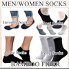 ♥buy7get1free♥Men Women socks bamboo fiber aloe fiber anti slip gel invisible socks loafer socks long socks ankle socks boat socks buy 7 get 1 free [ JLULA ]