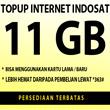 Topup pulsa internet INDOSAT [11 GB/ 13 GB] harga HEMAT