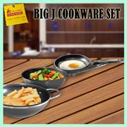 BIG J Cookware Set (3 PC) / Mini Bakeware Set (5pc) / Bakeware Set (5pc) / Disco Grill
