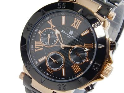 サルバトーレマーラ SALVATORE MARRA クオーツ メンズ 腕時計 SM14118-PGBKの画像