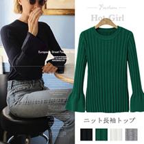 【送料無料】秋冬新作 レデイースファッション ★ 女性大人気◆ セーター ◆ 幅広くしっかり体型カバー ◆ 着痩せ ◆ セーターニット