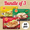 [CP Food] Gyoza Series - Bundle of 3! Choose from Pork and Chicken Gyoza with Chive / Pork and Chicken Gyoza with Suki Sauce / Chicken Gyoza (20 pcs per pack) (Frozen)