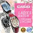 CASIO WATCH LTP 1208E/1208D SERIES ** JAM TANGAN WANITA ** GARANSI 1TAHUN
