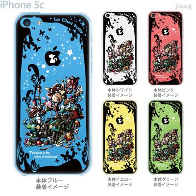 【iPhone5c】【iPhone5cケース】【iPhone5cカバー】【iPhone ケース】【スマホケース】【クリアケース】【Clear Arts】【イラスト】【アート】【Little World】【童話】【長靴をはいたネコ】 25-ip5c-am0081の画像