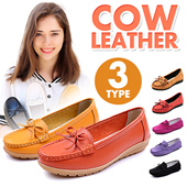 COW LEATHER! Tods Loafer / Falts Anti-slide / Rubber Sole / Super Fit / Comfortable Rubber Sole / Breathable Chic Stylish/ Casual  【M18】
