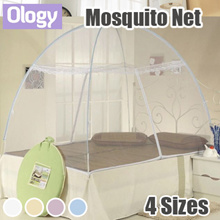 To Fight ZIKA! Portable Foldable Mosquito Cot Net Repellent Canopy Tent Bedding Set