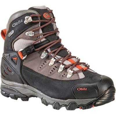 オボズ(Oboz) Beartooth BDRY ベアートゥース メンズ Midnight OB00050201MDNT 【靴 トレッキングシューズ 登山 防水 黒オレンジ】【TRSH15】の画像