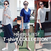 8TYPE Best T-shirt Best Selling★ Basic Design T-shirts Casual tops Short Sleeve