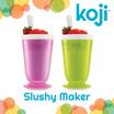 Koji Slushy Maker - Make slushies or milkshakes or smoothies in just 7 minutes! / BPA and Phthalate free / Easy to clean