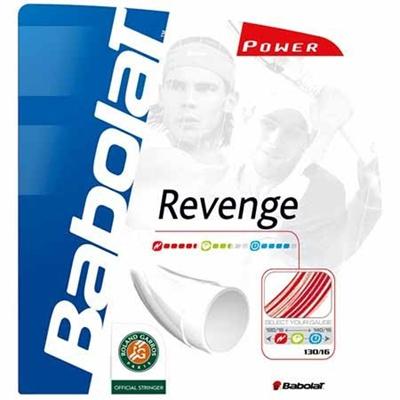 バボラ(Babolat) リベンジ BA241072 160 レッド 【テニス ガット ストリング 硬式】の画像