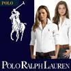 RALPH POLO レディースシャツ★シャキッとしたシルエットでよりスリムでスタイリッシュなシャツ姿を演出してくれるマストへブシャツ