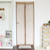 Simple encryption magnetic mosquito screen door upscale bedroom kitchen Free wear soft curtain screens