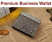[Singapore Seller] Premium Men Folded Wallet suitable for both business and casual use.