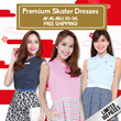 $12.90 Flat Price [Only For First 100] Premium Skater Dresses | XS-3XL