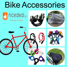 [Must buy] Bicycle accessories/cable lock/6 digit cable lock/bell/seat cover/anti-rain cover