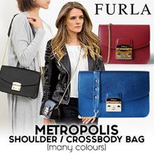 SG LOCAL 100% Authentic Furla Metropolis Bag imported from Paris