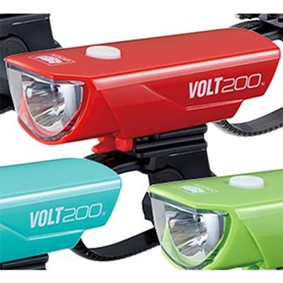 キャットアイ(CATEYE)HL-EL151RCVOLT200レッド526-21175【自転車ライトサイクルパーツアクセサリ】