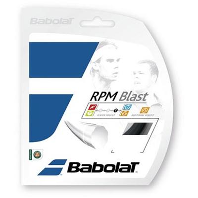 バボラ(Babolat) RPMブラスト 120/125/130 BA241101 900 ブラック 【テニス ガット ストリング 硬式】の画像