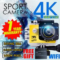 ◎SJ9000 4K HD 1080P Waterproof Sport DV camera WIFI camera recorder bike shoot underwater diving tour the mini wide angle DV DV camera hidden camera aerial WiFi3D