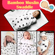 BLK1:Restock 27/05/2017 Newborn /infant/blanket/Muslin/swaddle/bed sheet/baby/100% cotton/towel