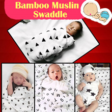 BLK1:Restock 24/03/2017 Newborn /infant/blanket/Muslin/swaddle/bed sheet/baby/100% cotton/towel