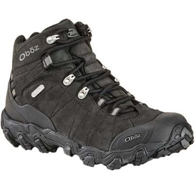 オボズ(Oboz) Bridger BDRY ブリッガー メンズ Black OB00022101BLCK 【靴 トレッキングシューズ 登山 防水 黒】【TRSH15】の画像